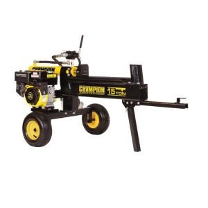 Champion Power Equipment 15 Ton Hydraulic Log Splitter with CARB 91520