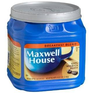 Maxwell House Master Blend Custom Roasted Full Flavor Coffee Value