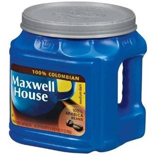 Maxwell House Coffee, Columbian Supreme, 11 Ounce Vacuum Bags (Pack of