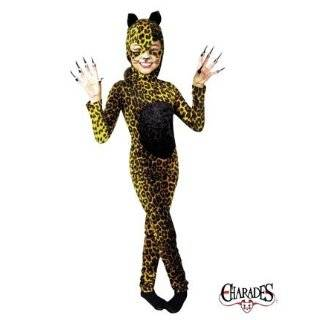Cheetah Cat Girl Halloween Costume (Size: Small 6 8): Toys & Games