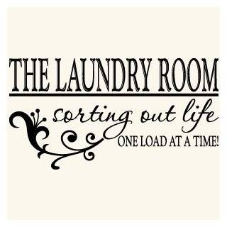 Laundry Room Quote Vinyl Wall Decal Sticker Art Home Décor FREE