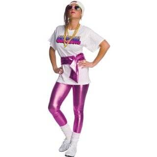 Fly Girl Hip Hop Costume includes Shirt, Leggings, Belt, Sunglassses